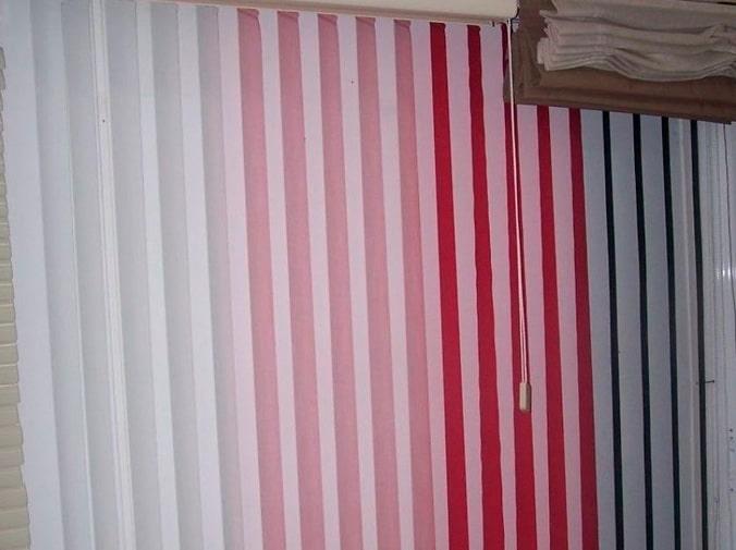 Las cortinas verticales